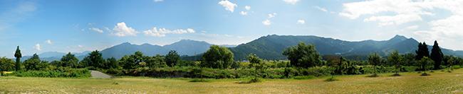 今泉記念館から見える景色