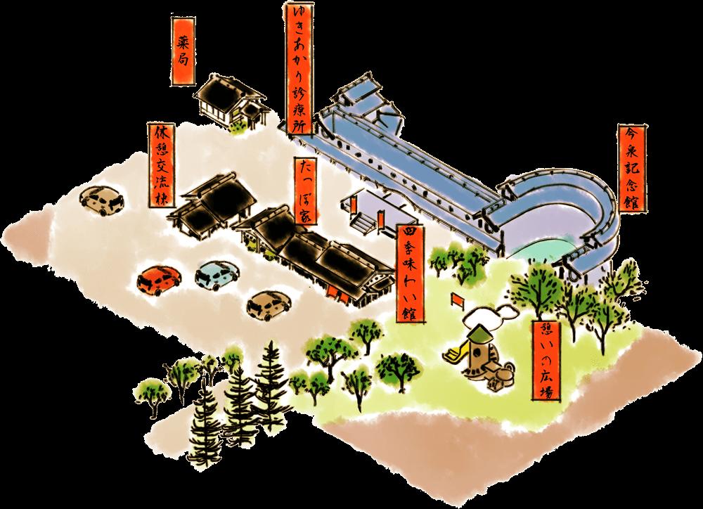 道の駅南魚沼マップ