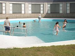 水遊び場写真