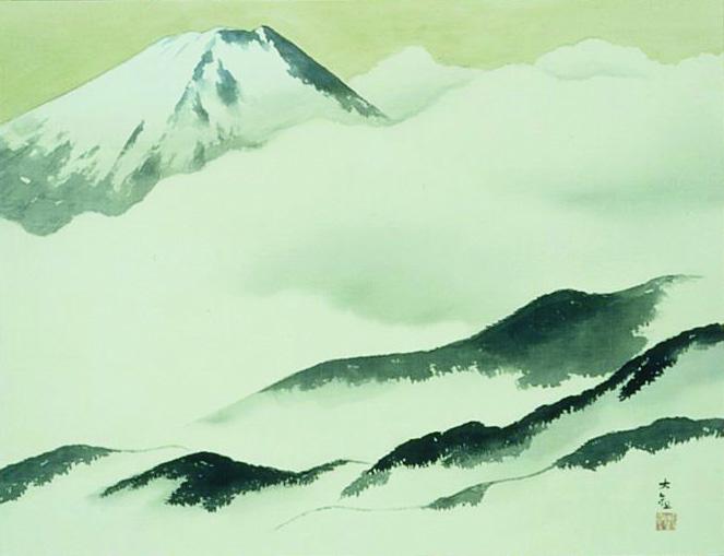横山大観「富士」1952年